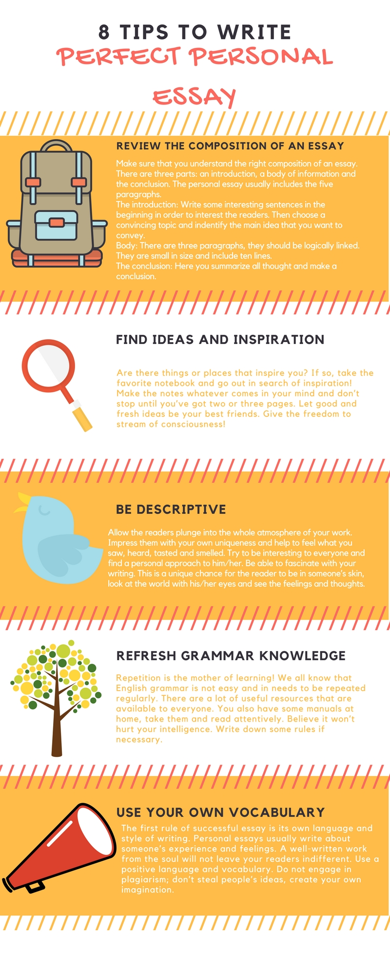 Research Essay Thesis Below There Are Useful Information That Will Help You To Write The Personal  Essay Quickly And Accurately Follow All These Tips Essay For High School Students also Essays On English Language  Tips Which Help Students To Write Perfect Personal Essay The Yellow Wallpaper Essay
