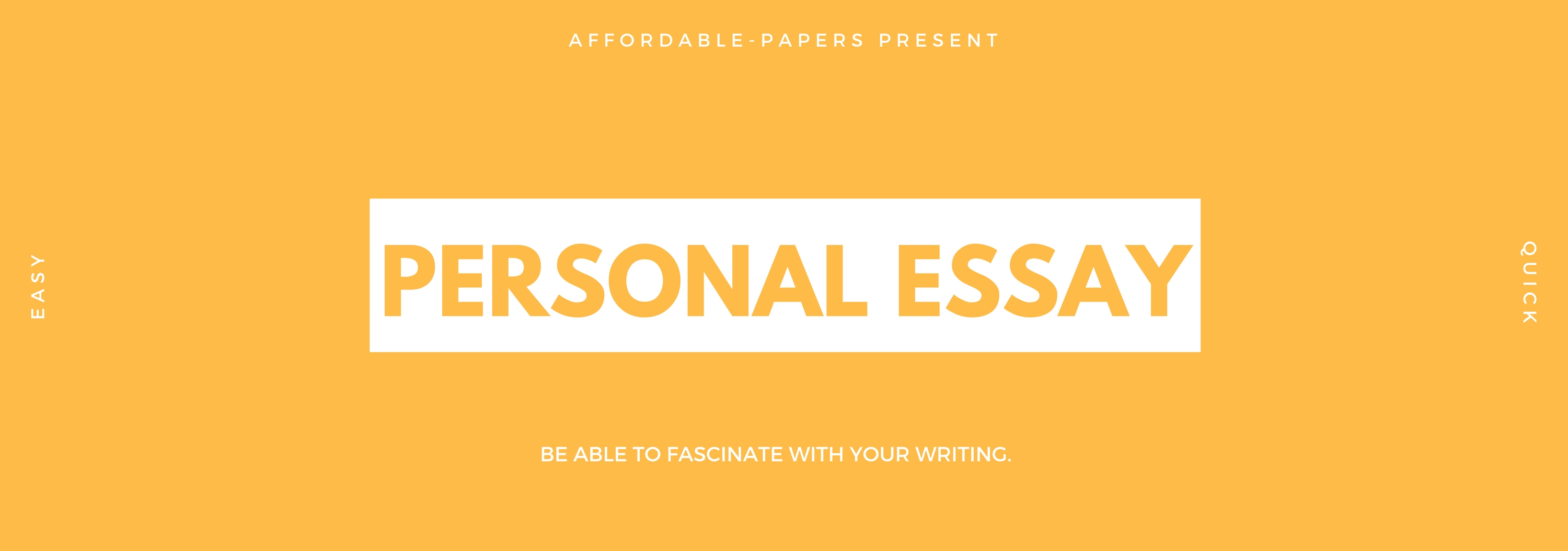Affordable essay papers