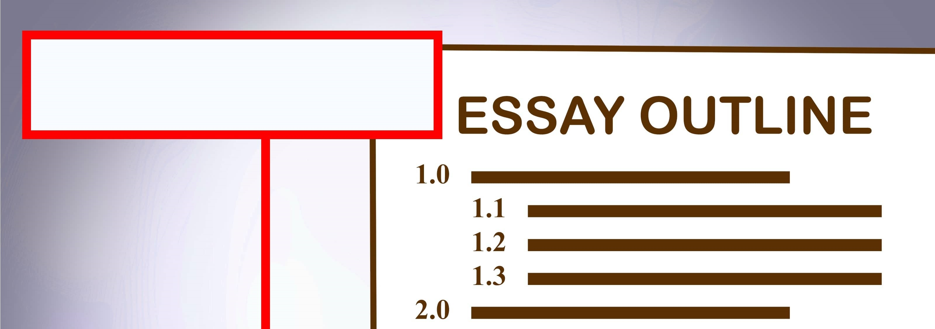 essay outline template to make your life easier argumentative essay outline