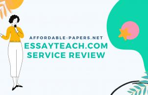 Banner for Honest Review On EssayTeach.com Service