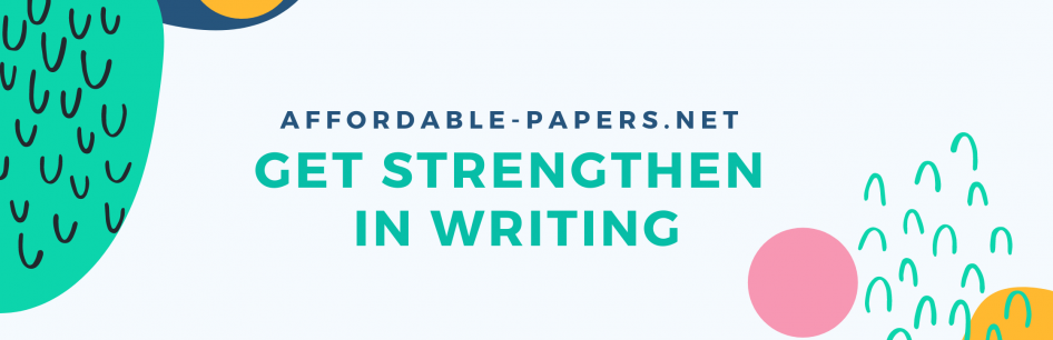 Banner for getting strengthen in writing