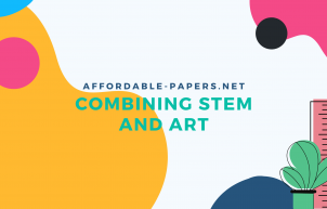 Banner Combining STEM and Art
